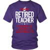 Retired Teacher Earned It Living It Loving It Shirt - Awesome Librarians - 4