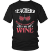 Teachers Never Complain But We Do Wine Shirt - Awesome Librarians - 5