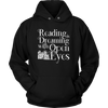 Reading Is Dreaming With Open Eyes Shirt - Awesome Librarians - 13