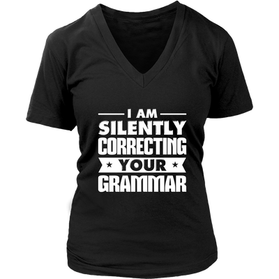 I Am Silently Correcting Your Grammar Shirt - Awesome Librarians - 11