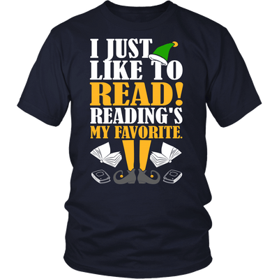 I Just Like To Read! Reading's My Favorite - Awesome Librarians