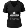 Abibliophobia. The Fear Of Running Out Of Books To Read Shirt - Awesome Librarians
