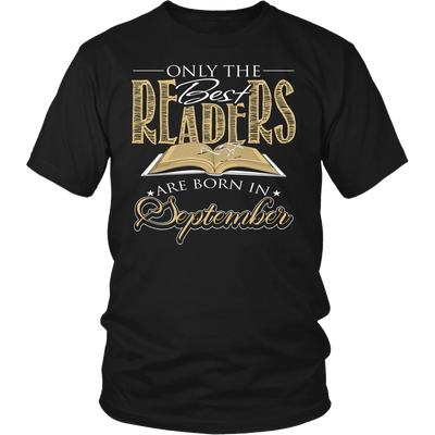 Only The Best Readers Are Born In September Shirt - Awesome Librarians