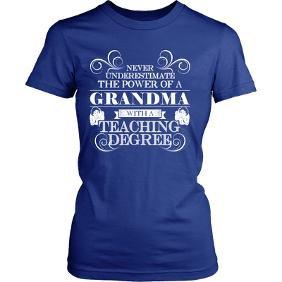 Never Underestimate The Power Of A Grandma With A Teaching Degree - Awesome Librarians
