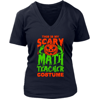 This Is My Scary Math Teacher Costume - Awesome Librarians - 12