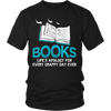 Books Life's Apology For Every Crappy Day Ever Shirt - Awesome Librarians - 1