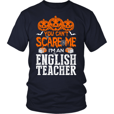 You Can't Scare Me I'm An English Teacher - Awesome Librarians - 4