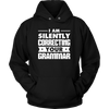I Am Silently Correcting Your Grammar Shirt - Awesome Librarians - 6