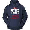 Retired Teacher Earned It Living It Loving It Shirt - Awesome Librarians - 2