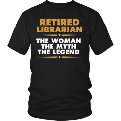 Retired Librarian The Woman The Myth The Legend - Awesome Librarians - 4
