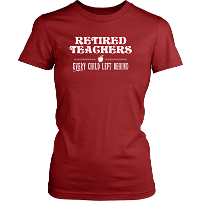 Retired Teacher Every Child Left Behind Shirt - Awesome Librarians - 7