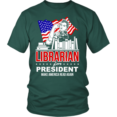 Librarian For President Make America Read Again - Awesome Librarians - 4
