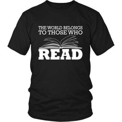 The World Belongs To Those Who Read - Awesome Librarians - 5