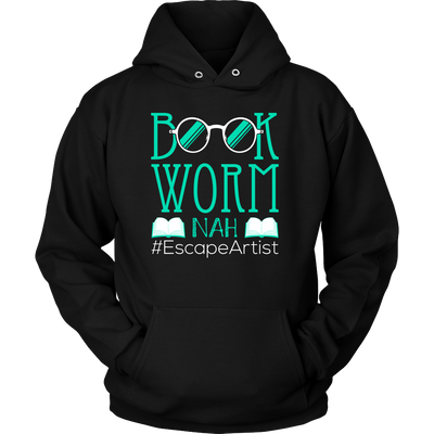 Book Worm Nah #Escape Artist Shirt - Awesome Librarians - 1