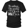 Reading Is Dreaming With Open Eyes Shirt - Awesome Librarians - 1