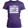 I Am Silently Correcting Your Grammar Shirt - Awesome Librarians - 7