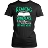 Reading Gives Us Someplace To Go When We Have To Stay Where We Are Shirt - Awesome Librarians - 4