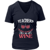 Teachers Never Complain But We Do Wine Shirt - Awesome Librarians - 12