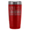 Be Nice To The Librarian, Santa Is Watching 20oz Tumbler - Awesome Librarians