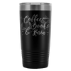 Coffee Books & Rain 20oz Tumbler - Awesome Librarians