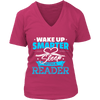 Wake Up Smarter Sleep With A Reader Shirt - Awesome Librarians