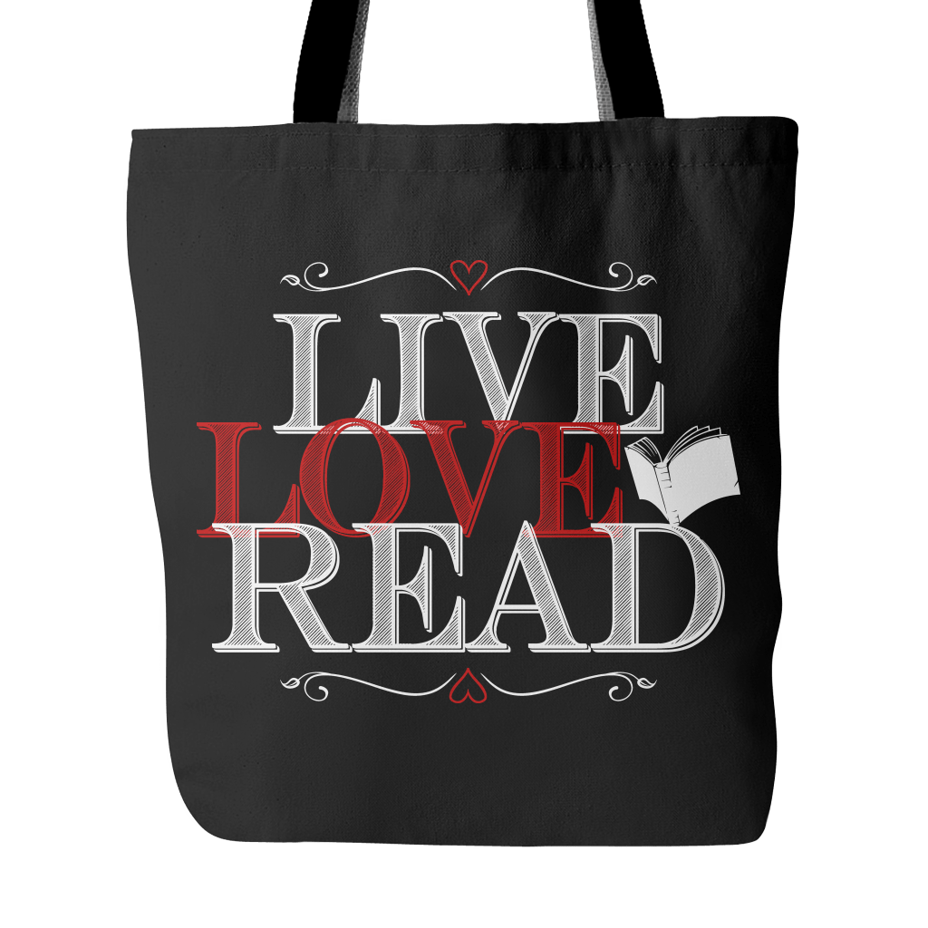 Live, Love, Read Tote Bag - Awesome Librarians