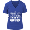 Wake Up, Teach Kids, Be Awesome Shirt