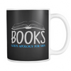 Books God's Apology For Men 11oz Mug - Awesome Librarians