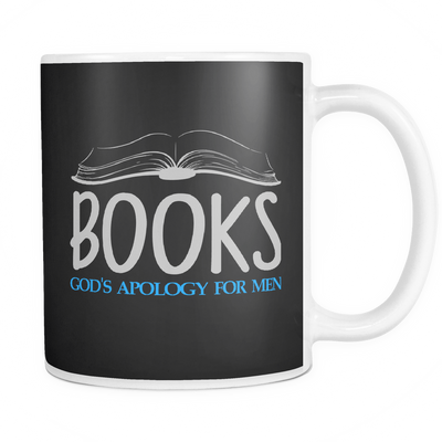 Books God's Apology For Men Mug