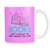 Books Life's Apology For Every Crappy Day Ever Mug - Awesome Librarians - 15
