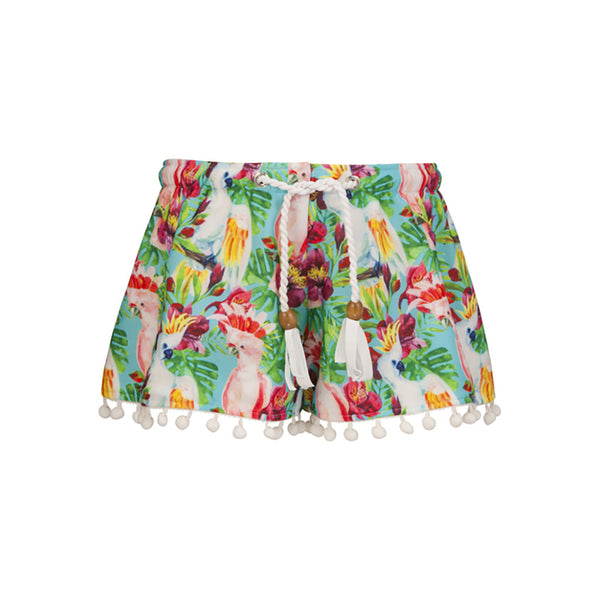 TROPICAL BIRDS SWIM SHORT