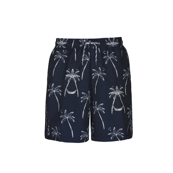 MIDNIGHT PALM MENS BOARD SHORT