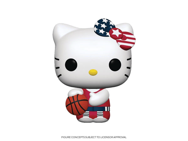 [Preorder] Hello Kitty Sports: Basketball Hello Kitty Pop Figure - [barcode] - Dragons Trading