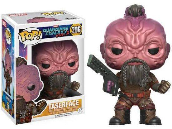 Funko POP! Marvel: Guardians of the Galaxy 2 Taser Face Pop - [barcode] - Dragons Trading