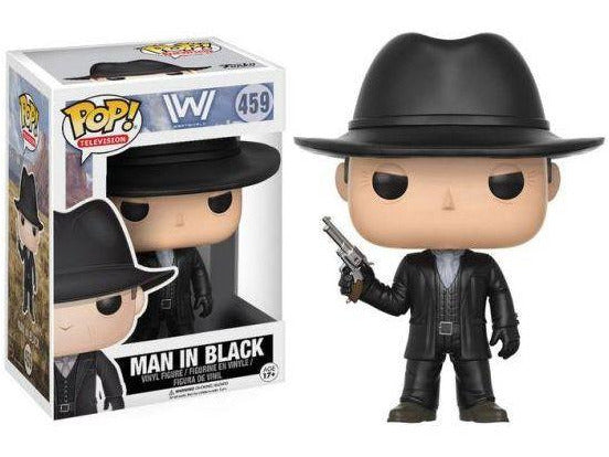 Westworld: The Man in Black Pop - [barcode] - Dragons Trading