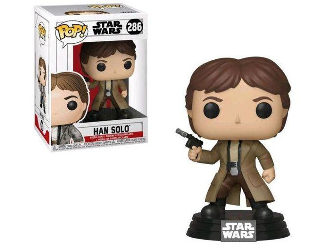 Funko POP! Starwars: Han Solo (Endor) - [barcode] - Dragons Trading