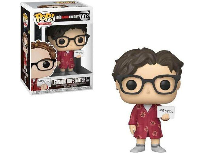 Funko POP! TV: Big Bang Theory - Leonard (Sarcasm) Pop - [barcode] - Dragons Trading