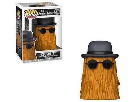 Funko POP! TV: Addams Family - Cousin Itt Pop - [barcode] - Dragons Trading