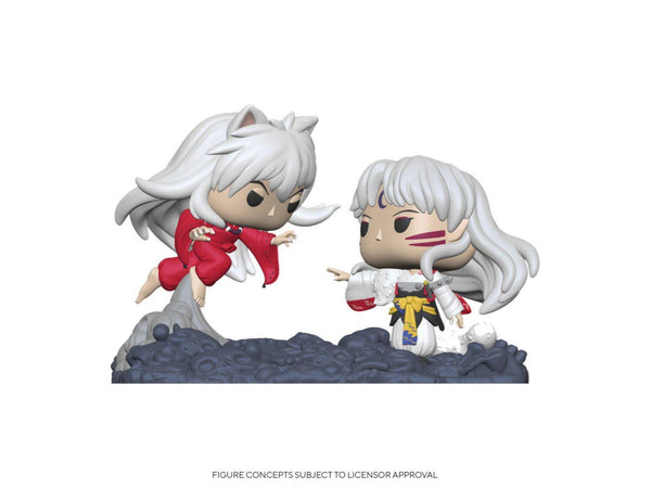 [Preorder] Inuyasha: Inuyasha Vs. Sesshomaru Movie Moments Pop Figure - [barcode] - Dragons Trading