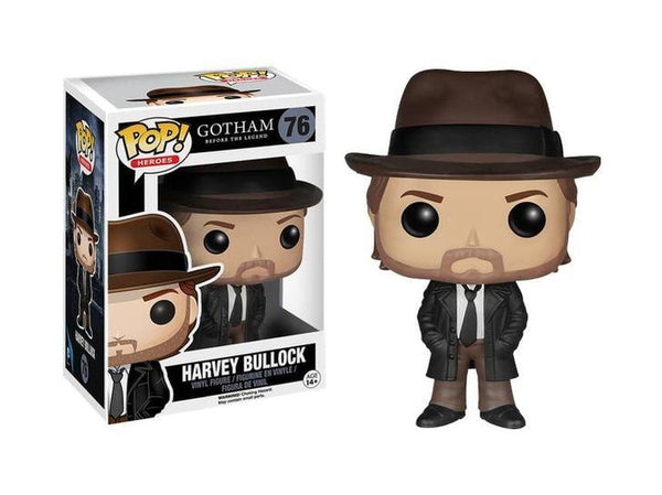 Funko POP! TV: Gotham - Harvey Bullock - [barcode] - Dragons Trading