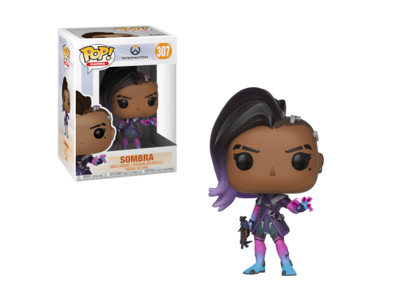 Funko Pop! Overwatch Sombra Action Figure Release: April 2018