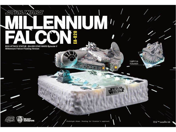 Beast Kingdom Egg Attack Floating Millennium Falcon - [barcode] - Dragons Trading