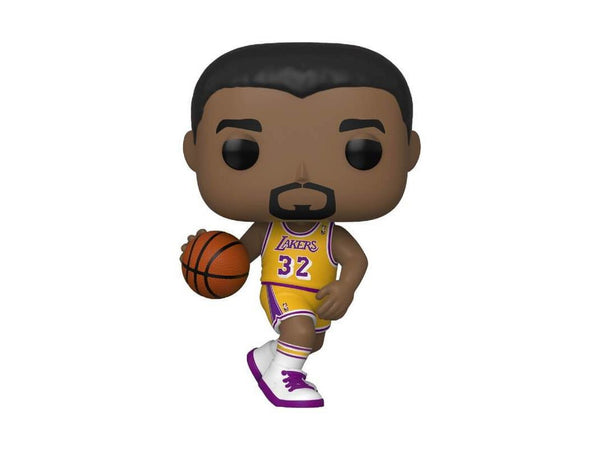 NBA Legends: Magic Johnson (Lakers Home) Pop - [barcode] - Dragons Trading