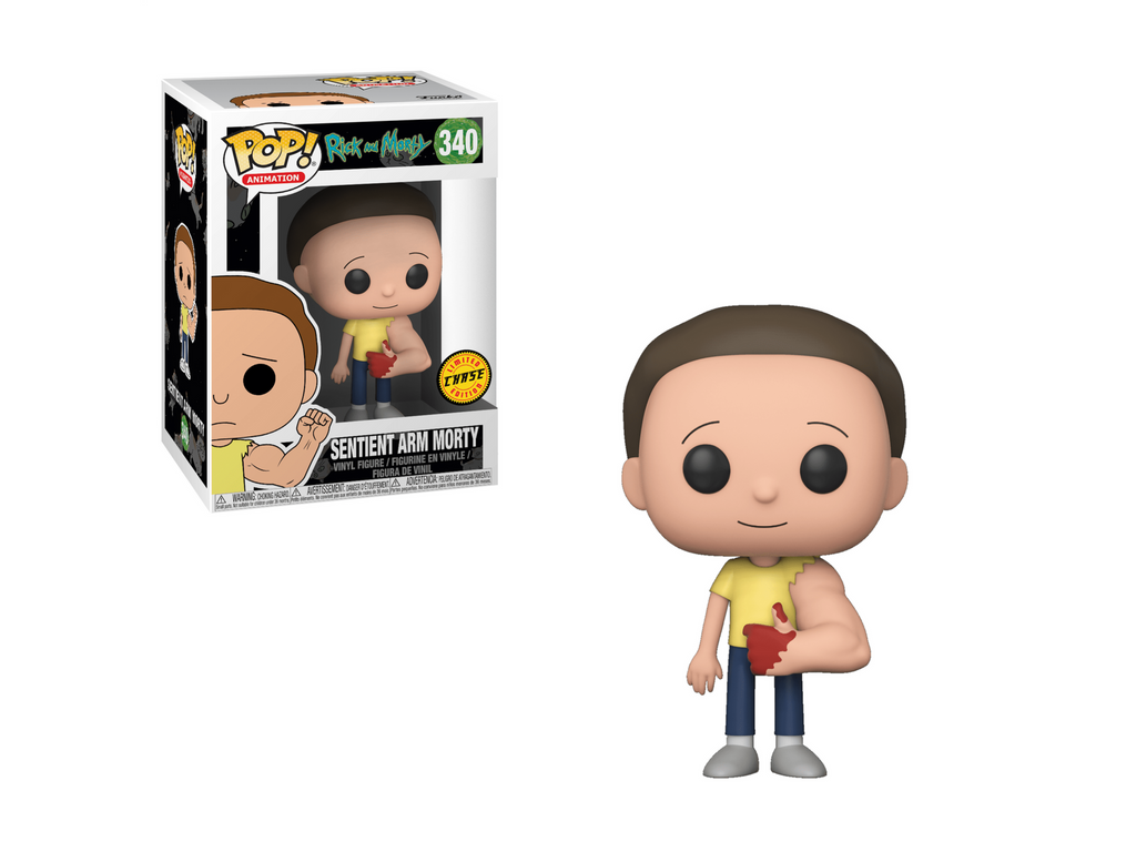 Rick & Morty - Sentient Arm Morty Pop (Chase) - [barcode] - Dragons Trading