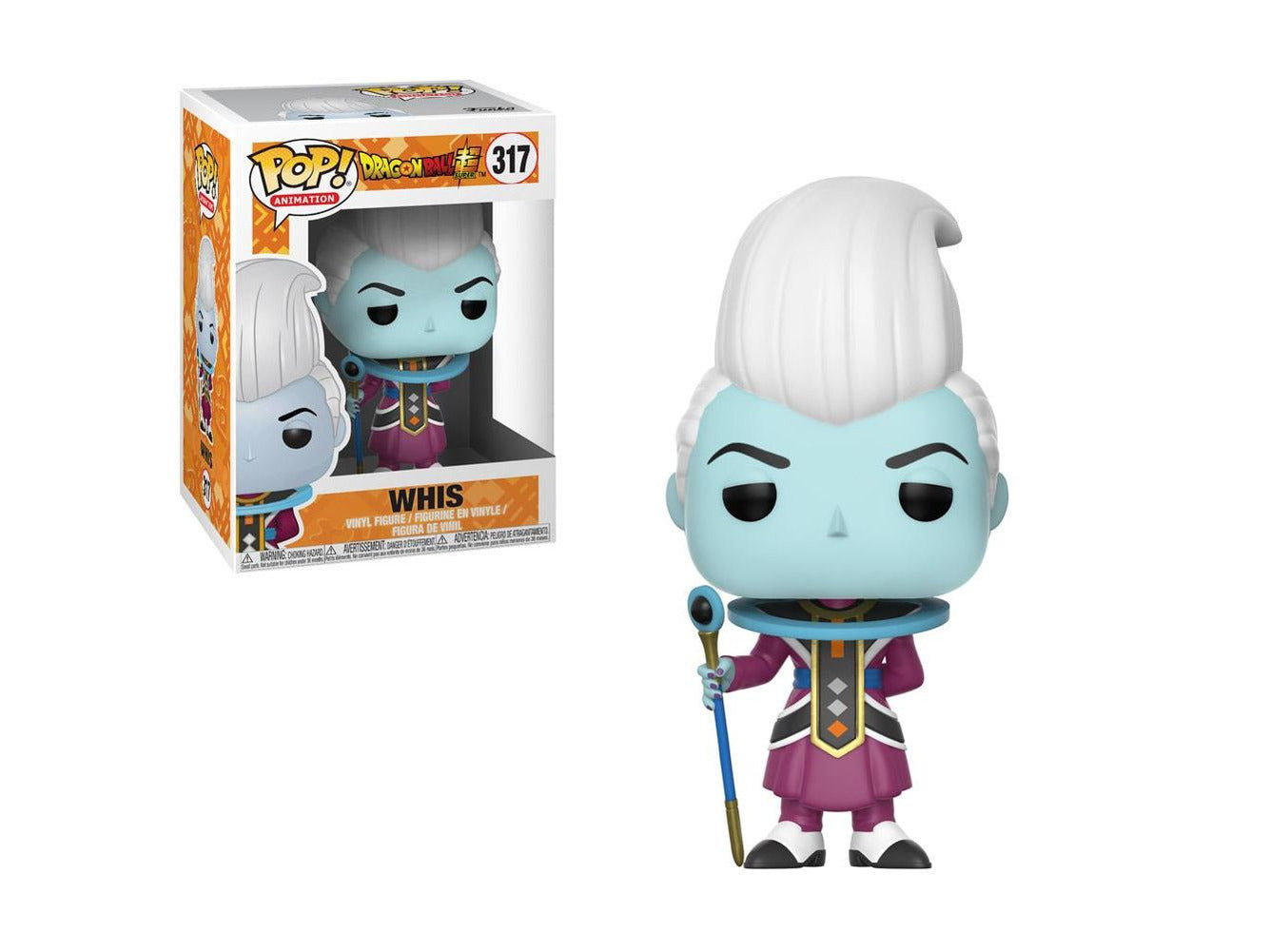 Funko Pop Animation: Dragon Ball Super-Whis Collectible Figure
