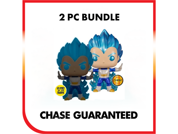 Chalice Collectible Exclusive: Vegeta Powering UP - 2 Bundle - [barcode] - Dragons Trading