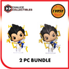 Chalice Collectibles Exclusive: Vegeta Galick Gun 2PC Bundle - [barcode] - Dragons Trading