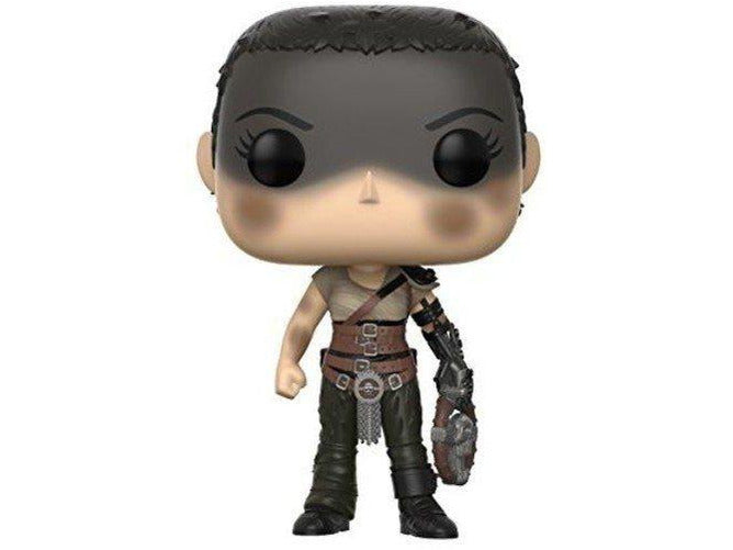 Funko Pop! Movies: Mad Max Fury Road Furiosa (Styles May Vary) Collectible Figure - [barcode] - Dragons Trading