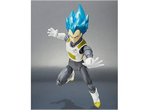 Bandai Tamashii Nations Super Saiyan God Super Saiyan Vegeta Dragon Ball Super Action Figure - Dragons Trading