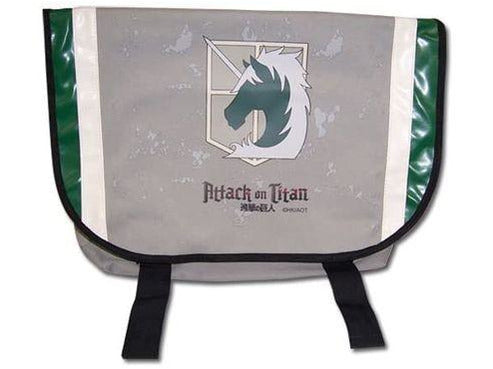 Great Eastern Entertainment Attack On Titan Military Police Messenger Bag